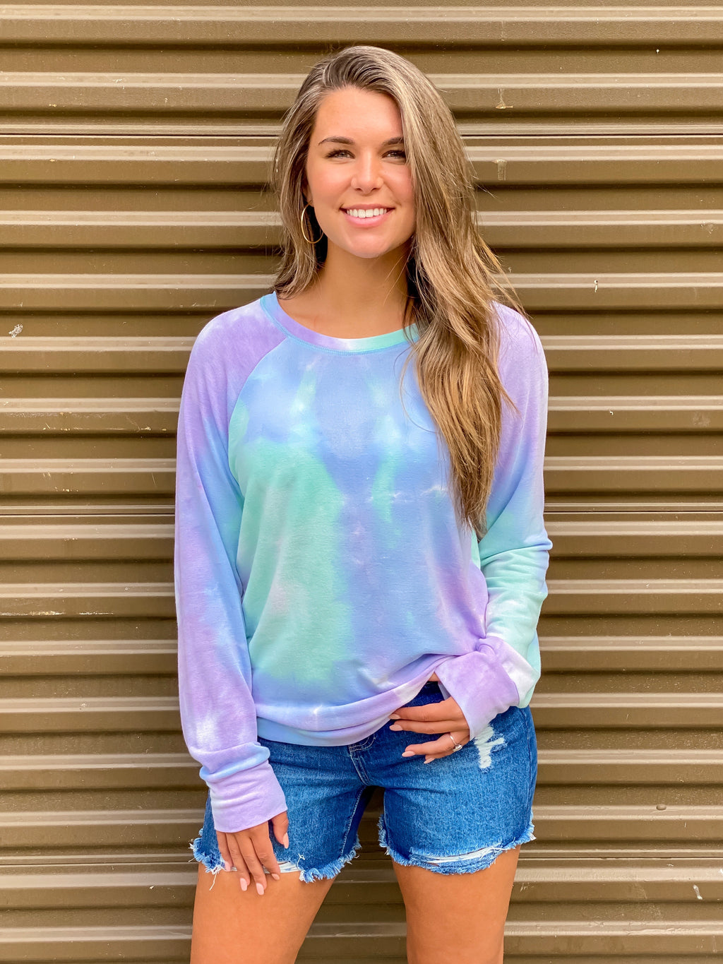 What Dreams Are Made Of Tie Dye Pullover