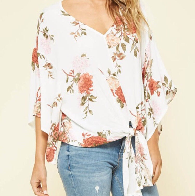 Forever Floral Blouse