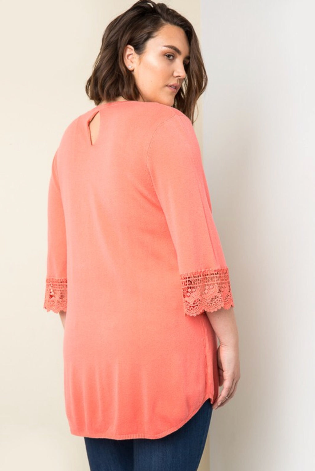 Coral Voyage Sweater