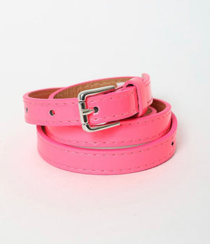90's Rocker Hot Pink Belt