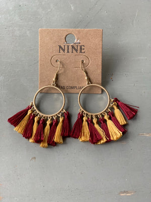 Game Day Earrings (Florida State)