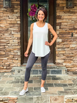 Tummy Control Capri Leggings