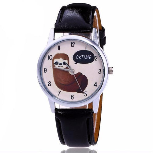 Cute Quartz Sloth Watch