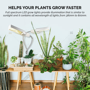 LED Grow Light for Growing, Seedling, Fruiting & Blooming