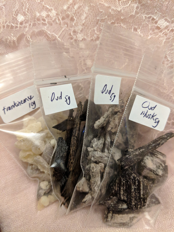 Ouds and frankincense combo - binkle