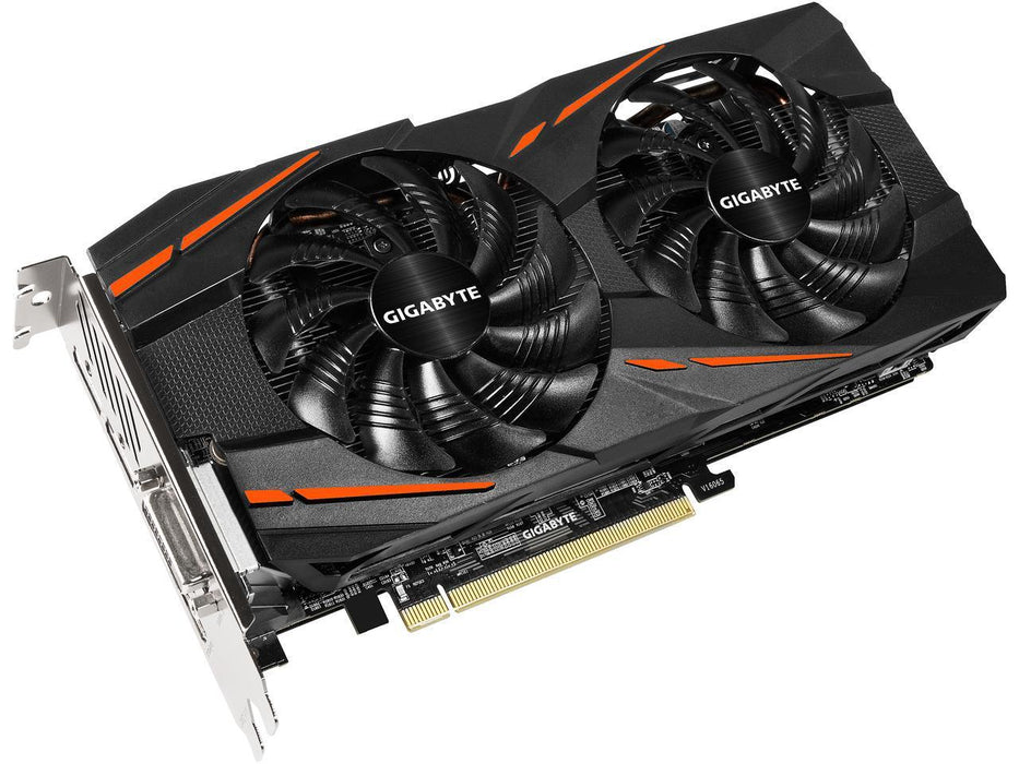 GIGABYTE Radeon RX 580 DirectX 12 GV-RX580GAMING-4GD 4GB 256-Bit GDDR5 PCI Express 3.0 x16 ATX Video Card 5 x Monitors Supported 5PORT DVI/HDMI/3XDP 1355MHZ