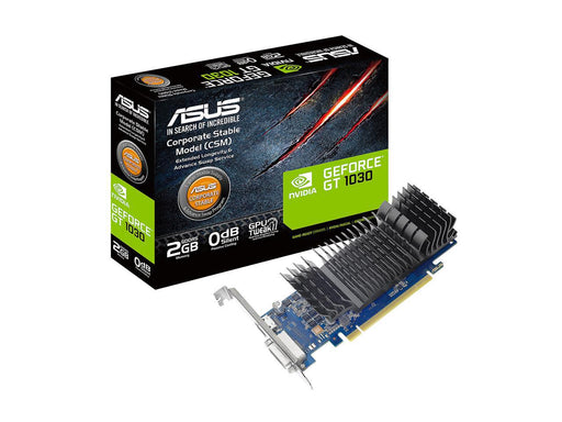 ASUS GeForce GT 1030 2GB GDDR5 HDMI DVI Graphics Card (GT1030-2G-CSM) Dual Display