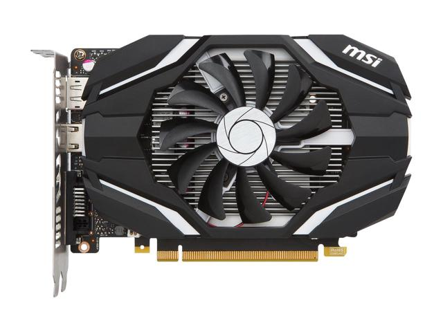 MSI GeForce GTX 1050 DirectX 12 GTX 1050 2G OC 2GB 128-Bit GDDR5 PCI Express 3.0 x16