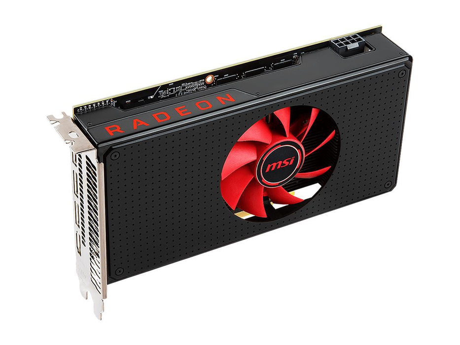 MSI Radeon RX 580 DirectX 12 Radeon RX 580 8G V1 8GB 256-Bit GDDR5 PCI Express x16 HDCP Ready CrossFireX Support Video Card-