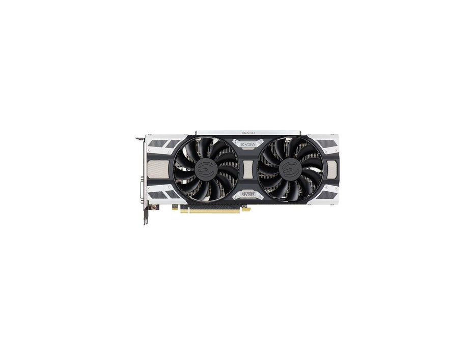 EVGA GeForce GTX 1070 SC GAMING ACX 3.0, 08G-P4-6173-KR, 8GB GDDR5, LED, DX12 OSD Support (PXOC) 4 x Monitors Supported PCIE 8GB GDDR5 DVI-D DP HDMI