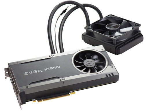 IN STOCK EVGA GeForce GTX 1080 FTW HYBRID GAMING, 08G-P4-6288-KR, 8GB GDDR5X, RGB LED, All-In-One Watercooling with 10CM FAN, 10 Power Phases, Double BIOS, DX12 OSD Support (PXOC)
