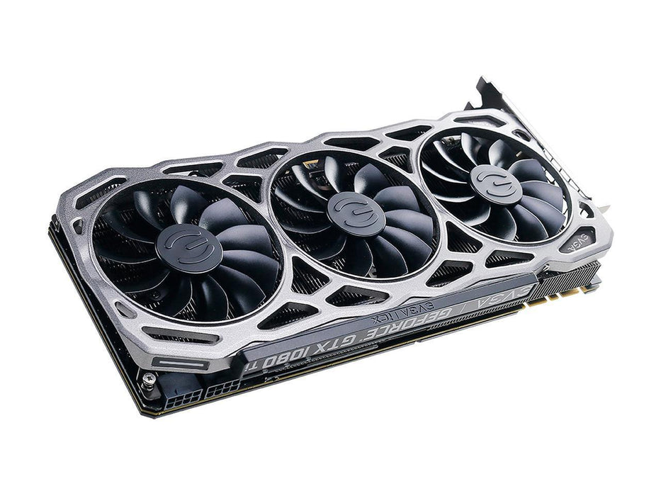 IN STOCK EVGA GeForce GTX 1080 Ti FTW3 DT DirectX 12 11G-P4-6694-KR 11GB 352-Bit GDDR5X PCI Express 3.0 HDCP Ready SLI Support Video Card