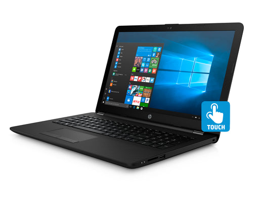 "HP 15 Laptop 15.6"" Touchscreen Laptop , Intel Pentium Silver N5000, 1TB HDD, 4GB SDRAM, Windows 10 - Jet Black"