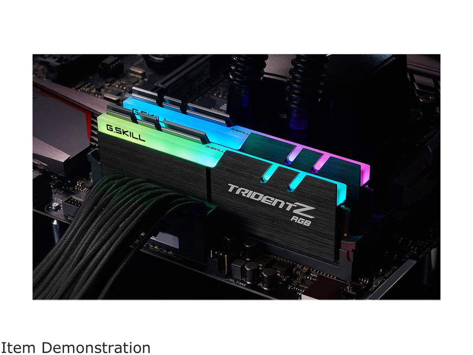 G.SKILL TridentZ RGB Series 16GB (2 x 8GB) 288-Pin DDR4  Model F4-3000C16D-16GTZR