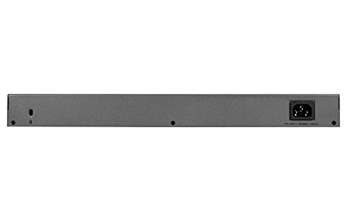 NETGEAR 48-port Gigabit Smart Managed Plus Switch, 2xSFP, Fanless, Rackmount, ProSAFE Lifetime Protection (GS750E)