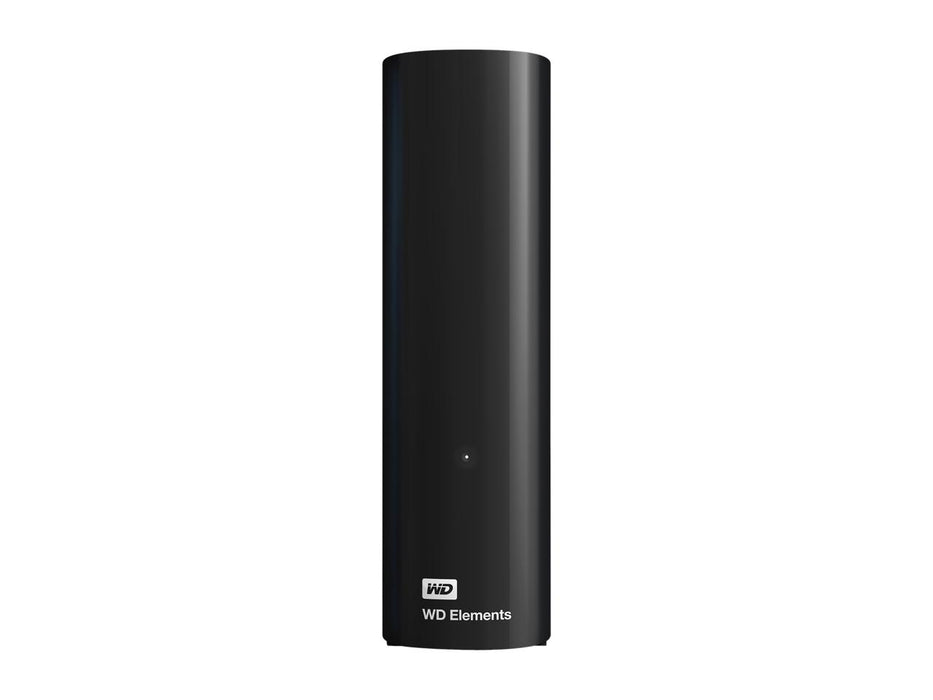WD Elements 4TB USB 3.0, USB 2.0 External Hard Drive WDBWLG0040HBK-NESN Black