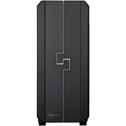 ROSEWILL RGB ATX Mid Tower Gaming Computer Case with Side Window, RGB LED Gaming Case with 4 Different Lighting Modes and 2 Pre-installed RGB LED Fans. Easy Access Top I/O Ports (ORBIT-Z1)