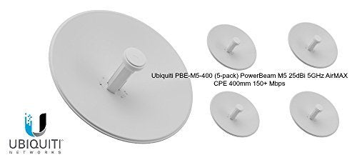 PowerBeam M5 400 25dBi 5-pack