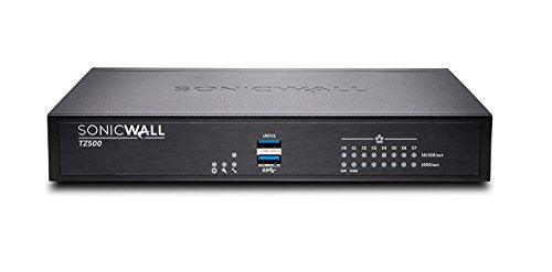 DELL SonicWALL TZ500 TotalSecure Bundle - Includes TZ 500 Appliance & 1 Year Comprehensive Gateway Security Suite