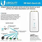 Ubiquiti Networks RP-5AC-GEN2-US 5GHz Rocket ac Gen2 airPrism AC Radio BaseStation (US Version)