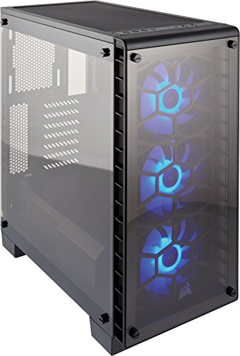 Corsair Crystal Series 460X Tempered Glass, Compact ATX