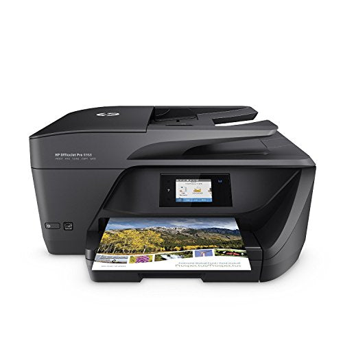 HP T0F28A#B1H OfficeJet All-in-One Wireless Printer with Mobile Printing Instant Ink ready OJ Pro 6968 Black
