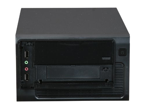 Rosewill Mini ITX Tower/ Desktop Computer Case with 250-Watts 20+4Pin and 1 SATA Connector RS-MI-01 BK