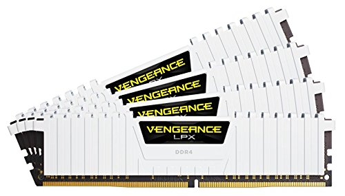 Corsair Vengeance LPX 64GB DDR4 2666 C16 for DDR4 Systems - White