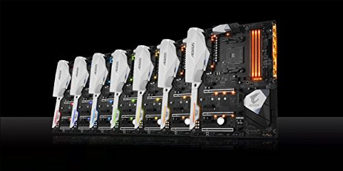 GIGABYTE AORUS GA-AX370-Gaming 5 (AMD Ryzen AM4/ X370/ RGB FUSION/ SMART FAN 5/ HDMI/ M.2/ U.2/ USB 3.1 Type-C/ ATX/ DDR4/ Motherboard)