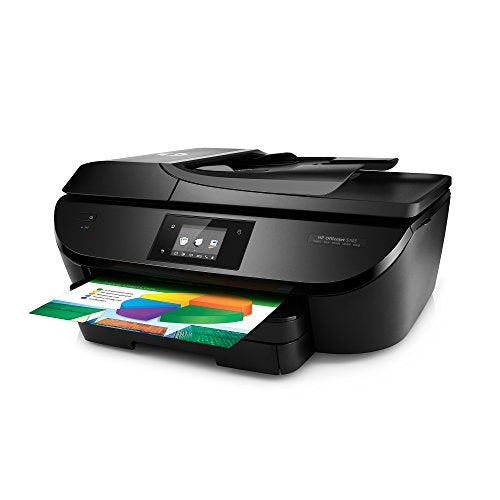 HP OfficeJet 5743 All-in-One Wireless Printer with Mobile Printing, includes 2 years of Instant Ink (F8B10A)