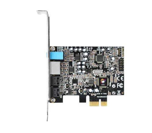 SIIG DP SoundWave Dual Profile PCI-Express 7.1-Channel Sound Card IC-710211-S1