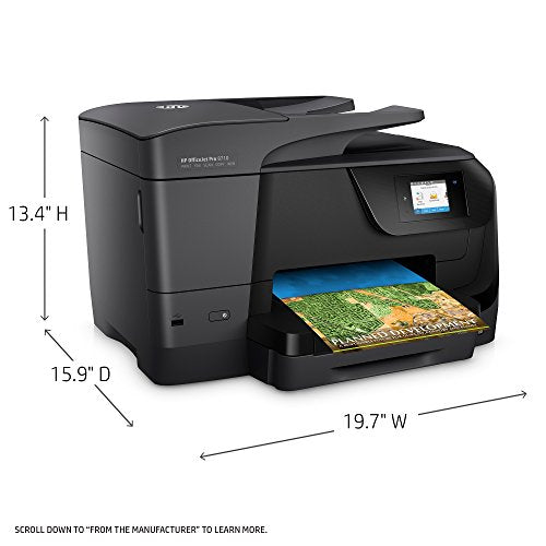 HP M9L66A Office Jet Pro 8710 All-in-One Printer Copy/Fax/Print/Scan