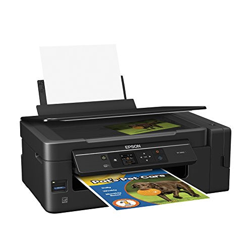Epson Expression ET-2650 EcoTank Wireless Color All-in-One Supertank Printer with Scanner and Copier
