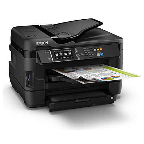 Epson WorkForce WF-3620 WiFi Direct All-in-One Color Inkjet Printer, Copier, Scanner