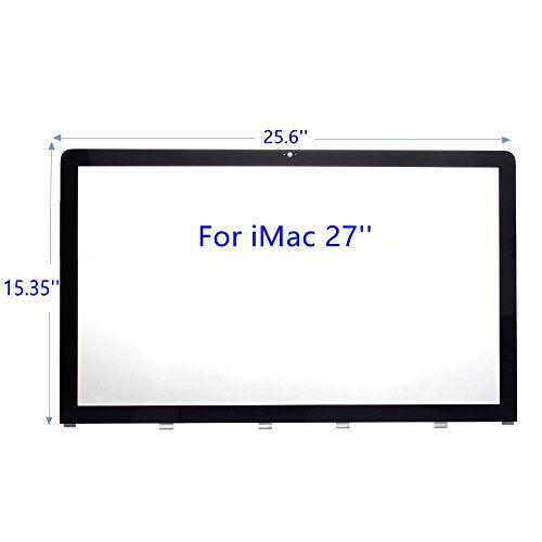 New LCD Front Glass Replacement for iMac 27 Inch A1312 Year 2009 2010 2011 922-9833 922-9147 922-9469 (iMac 27'')