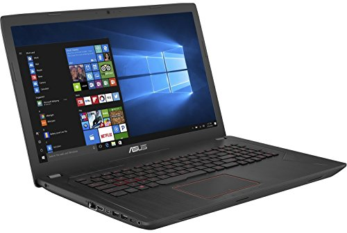 "ASUS Gaming Laptop, GTX 1050 Ti 4GB, i7, 17.3"" Wideview 8GB DDR4, 1TB HDD"