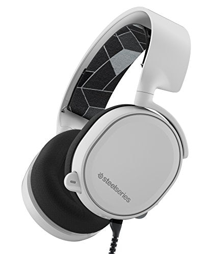 SteelSeries Arctis 3 All-Platform Gaming Headset for PC, PlayStation 4, Xbox One, Nintendo Switch, VR, Android and iOS - White