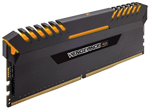 Corsair Vengeance RGB 64GB (4x16GB) DDR4 3000 (PC4-24000) C15 Desktop memory PC memory CMR64GX4M4C3000C15