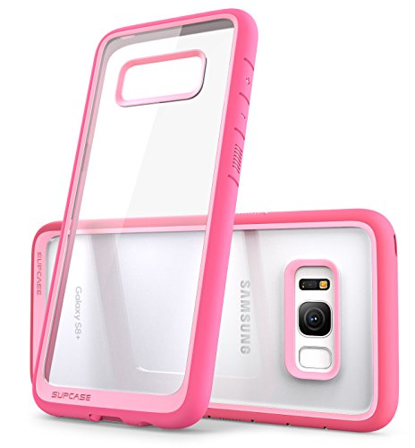 Galaxy S8 Plus Case, SUPCASE Unicorn Beetle Style Premium Hybrid Protective Clear Case for Samsung Galaxy S8 Plus 2017 Release (pink)