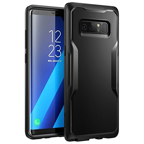 SUPCASE Samsung Galaxy Note 8 Case Unicorn Beetle Series Premium Hybrid Protective Clear Case 2017 Release (Black/Black)