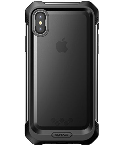 iPhone X Waterproof Case, SUPCASE [Unicorn Beetle Storm] iPhone 10 Waterproof Full-body Rugged Case with Built-in Screen Protector for Apple iPhone X / iPhone 10 2017 Release (Frost/Black)