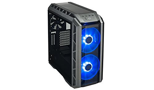 Cooler Master MasterCase H500P ATX Mid-Tower Case with Two 200mm RGB Fans In The Front and Tempered Glass Side Panel Cases (MCM-H500P-MGNN-S00)