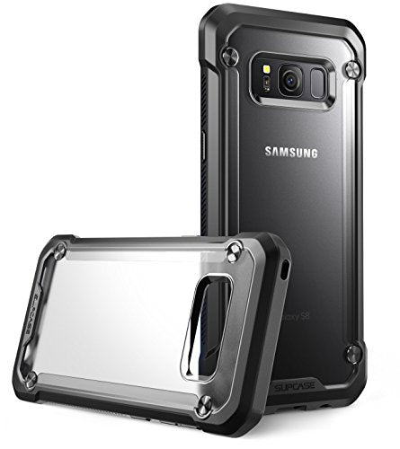 Samsung Galaxy S8 Case, SUPCASE Unicorn Beetle Series Premium Hybrid Protective Frost Clear Case for Galaxy S8 2017 Release, Retail Package (Frost/Black)