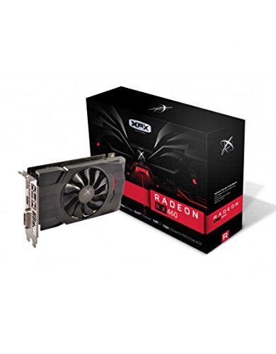 XFX AMD Radeon RX 460 4GB GDDR5 DVI/HDMI/DisplayPort PCI-Express Video Card (RX-460P4SFG5)-