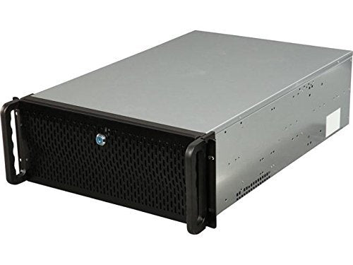 Rosewill Bitcoin Case, Server Chassis, Server Case, Rackmount Case for Bitcoin Mining; 4U Metal Rackmount Bitcoin for 6 GPU; Solution for Building a Mining Rig, Ethereum ETH, Bitcoin BTC, Litecoin