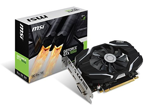 MSI GAMING GeForce GTX 1050 GB GDDR5 DirectX 12 Graphics Card (GTX 1050 2G OC)-
