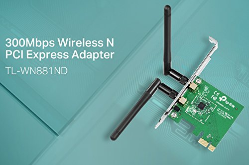 TP-Link N300 Wireless PCI-Express Adapter (TL-WN881ND)