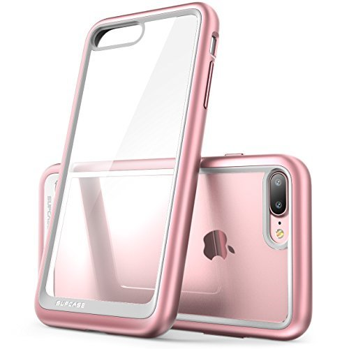 iPhone 7 Plus Case, iPhone 8 Plus Case, SUPCASE Unicorn Beetle Style Premium Hybrid Protective Clear Case for Apple iPhone 7 Plus 2016 / iPhone 8 Plus 2017 (Rose Gold)