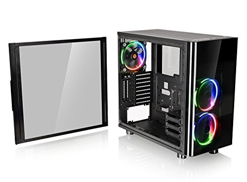 Thermaltake View 31 RGB Dual Tempered Glass SPCC ATX Mid Tower Tt LCS CA-1H8-00M1WN-01