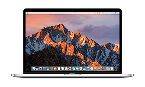 "Apple 15"" MacBook Pro, Retina, Touch Bar, 2.9GHz Intel Core i7 Quad Core, 16GB RAM, 512GB SSD, Silver, MPTV2LL/A (Newest Version)"